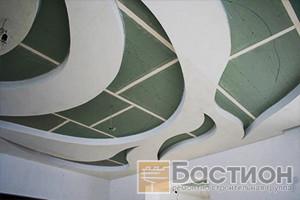 Монтаж потолка из гипсокартона Харьков